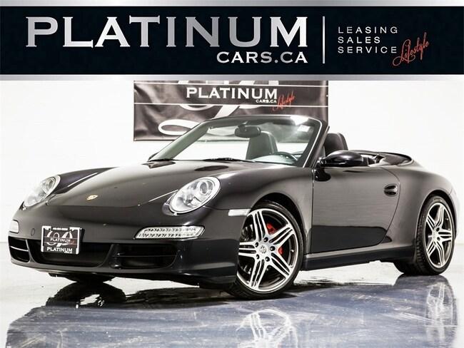 2007 Porsche 911 Carrera S, CABRIOLET, SPORT CHRONO, TURBO WHEELS Convertible