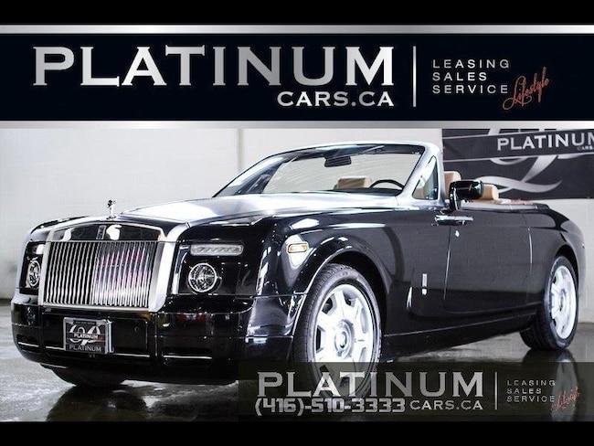 2008 Rolls-Royce Phantom DROPHEAD, V12, NAVI, CASHMERE Convertible
