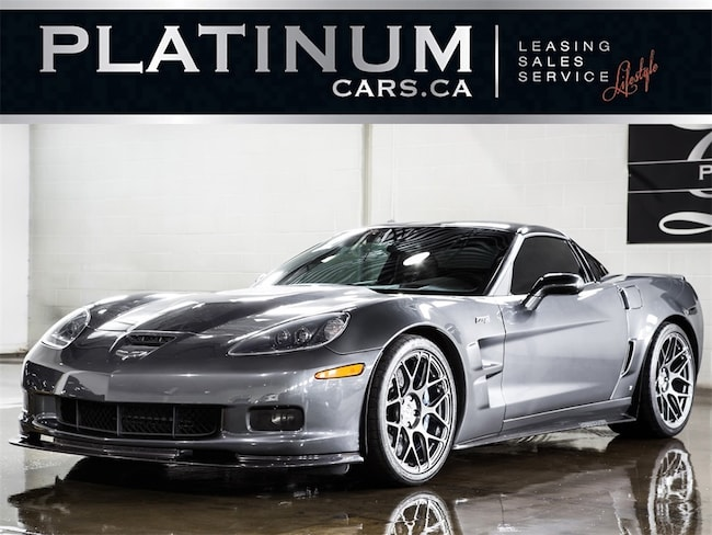 2009 Chevrolet Corvette ZR1 LINGENFELTER 800HP SUPERCHARGED, HRE WHEELS Coupe
