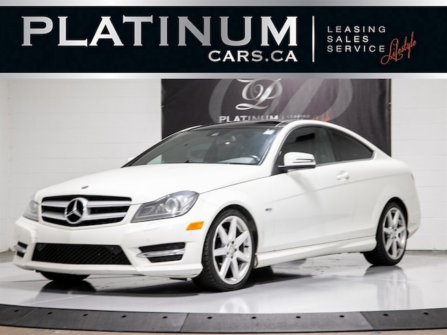 2012 Mercedes-Benz C-Class 350 4MATIC PANO, KEYLESS, HEATED Coupe