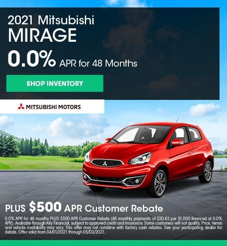 2021 Mitsubishi Mirage (apr)