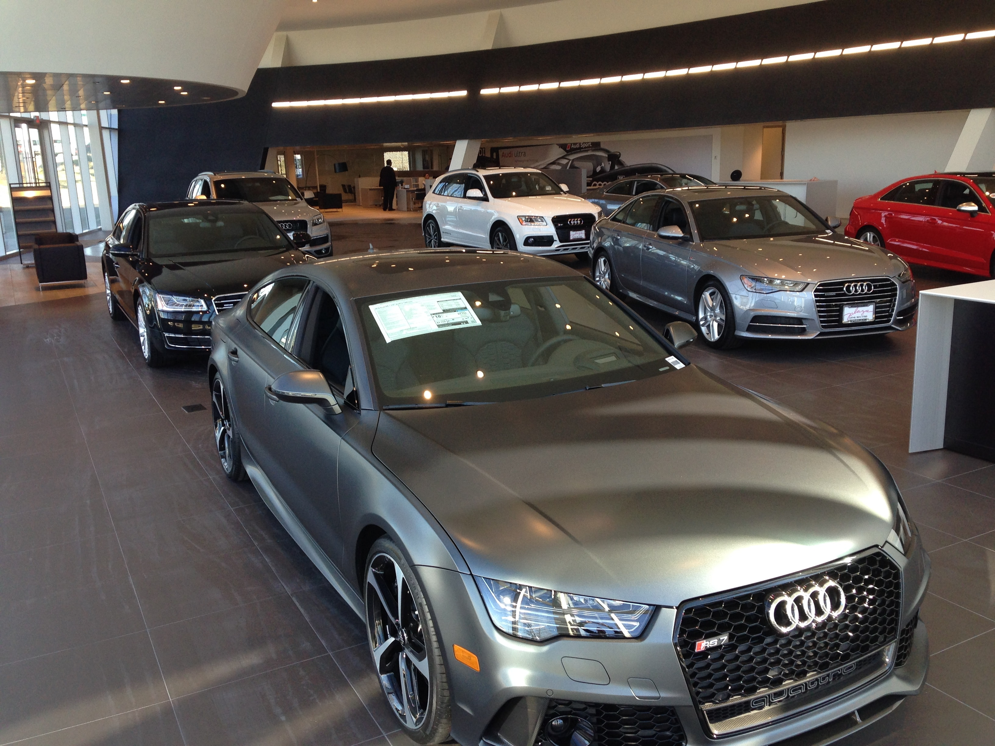 Audi Dealership St Louis Audi Creve Coeur - Plaza audi