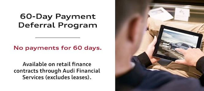 Audi Payment Deferral St Louis