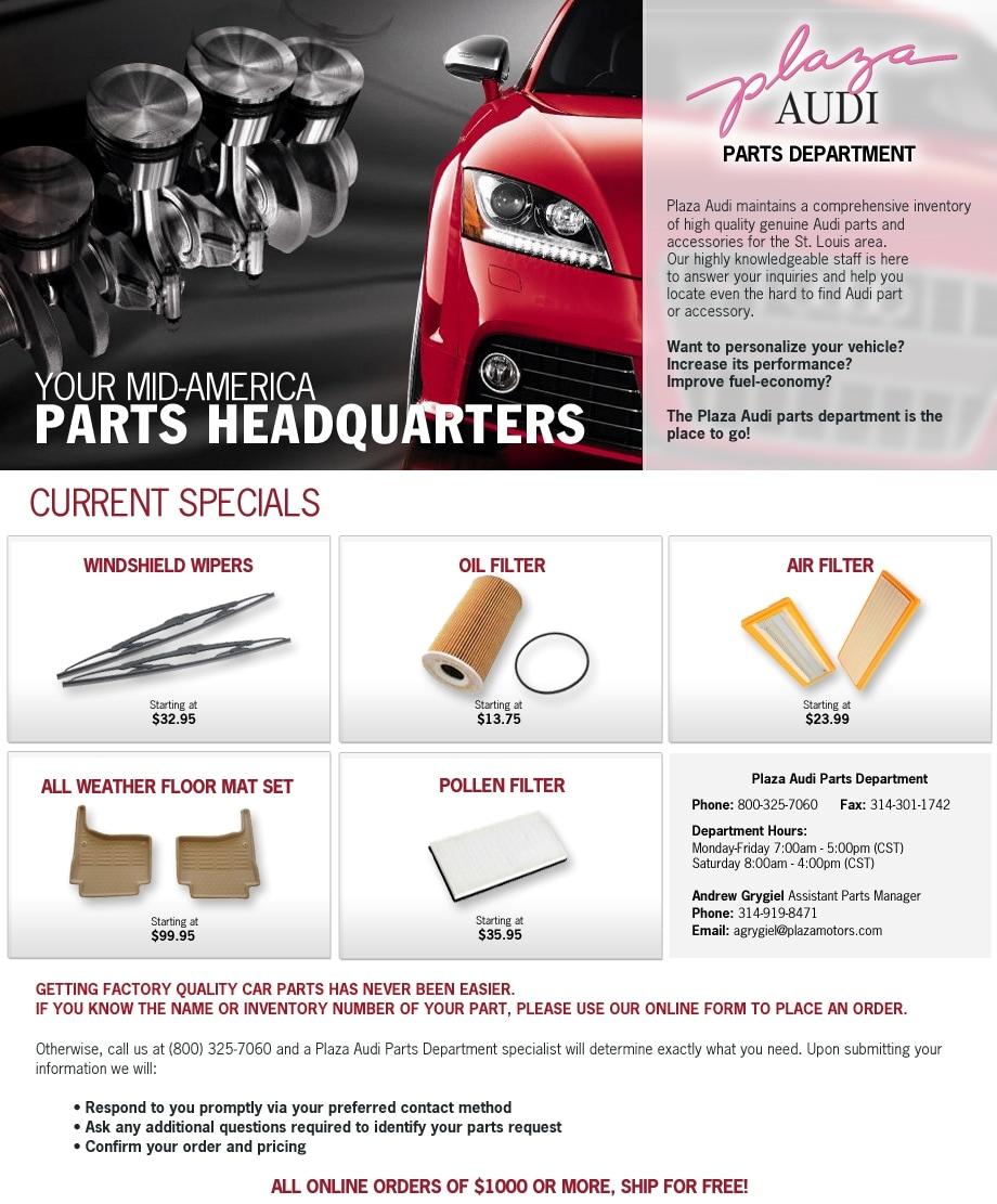 Audi Creve Coeur New Audi Dealership In Creve Coeur MO - Plaza audi