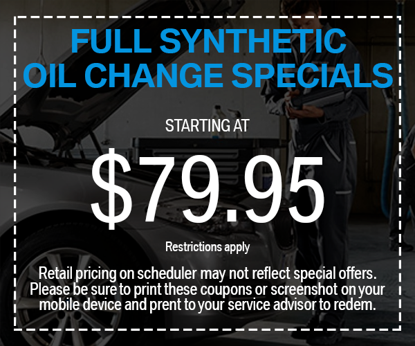BMW Service Coupon