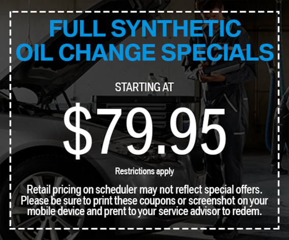 Full Synthetic Oil Change Bmw Service Coupons St Louis
