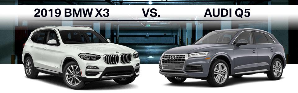 2019 Bmw X3 Vs Audi Q5 Plaza Bmw