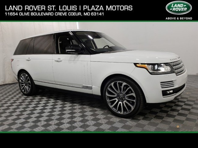 2016 Land Rover Range Rover Supercharged 4WD  Supercharged LWB