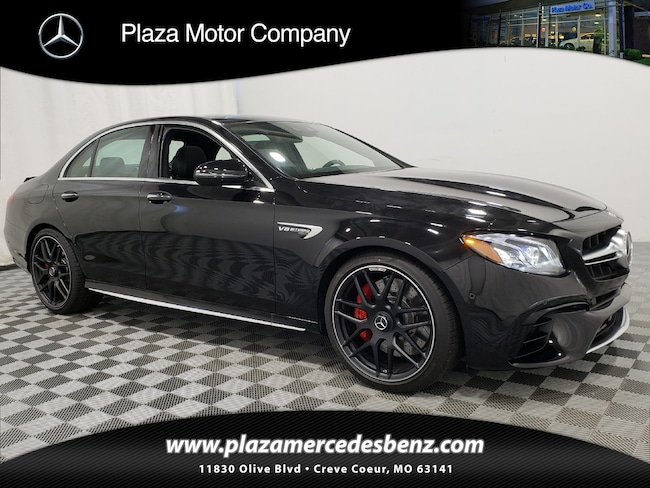 2019 AMG E 63 Mercedes-Benz S 4MATIC Sedan