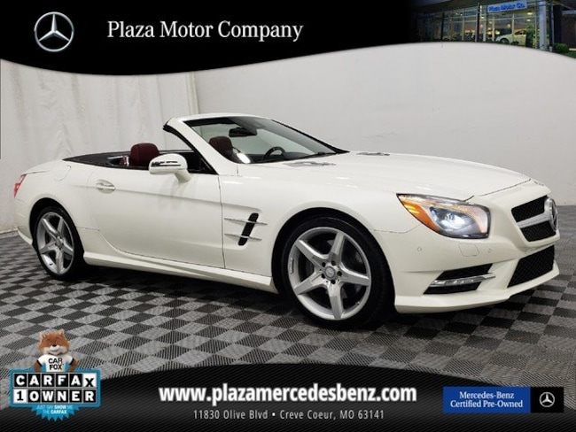 0cf259076c Used 2016 Mercedes-Benz SL For Sale at Plaza Motor Company