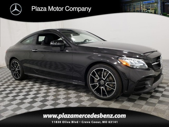 2019 C-Class Mercedes-Benz C 300 4MATIC Coupe
