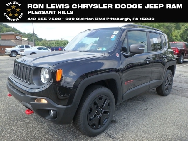High Quality New 2018 Jeep Renegade TRAILHAWK 4X4 Sport Utility In Pittsburgh
