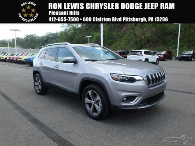 New 2019 Jeep Cherokee LIMITED 4X4 Sport Utility in Pittsburgh