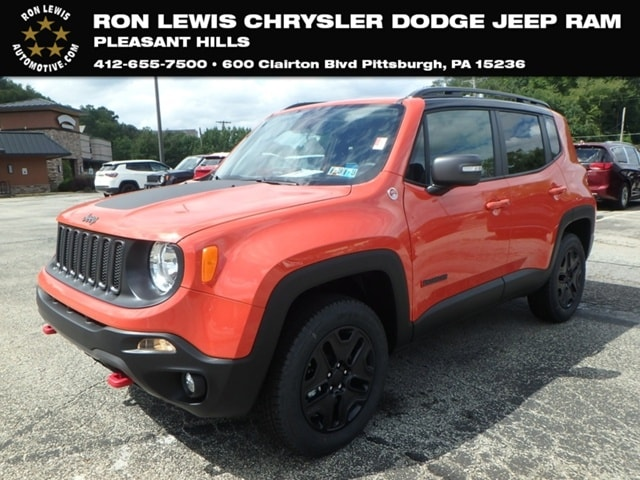 Captivating New 2018 Jeep Renegade TRAILHAWK 4X4 Sport Utility In Pittsburgh