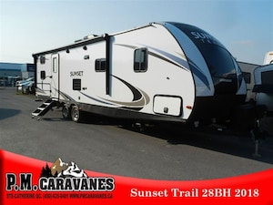 2018 Sunset Trail by Crossroads SS28BH Grand Reserve