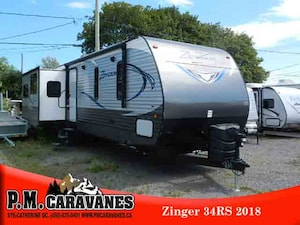 2018 Zinger By Crossroads ZR34RS