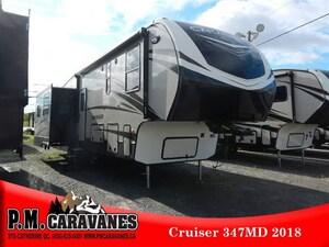 2018 CRUISER BY CROSSROADS RV CR347MD -