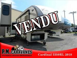 2018 CARDINAL 3456RL VENDU
