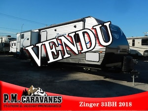 2018 Zinger By Crossroads ZR33BH VENDU