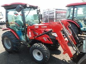 2017 TYM Tractors T 394 VENDU VENDU- Hydraustatic / loader / cab