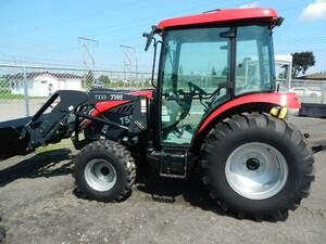 2017 TYM Tractors T 554 HC TRACTEUR hydrostatique