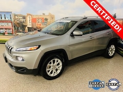 Used 2016 Jeep Cherokee Latitude 4x4 SUV For Sale In Carrollton, TX