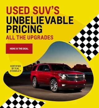 Used SUVs 8/20/2019