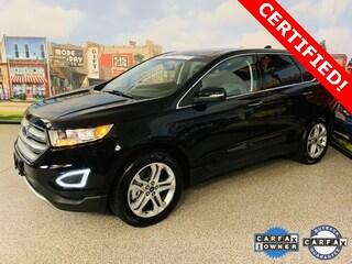Used 2018 Ford Edge Titanium SUV near Dallas, TX