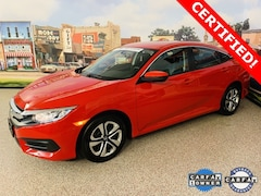 Used 2018 Honda Civic LX Sedan For Sale In Carrollton, TX