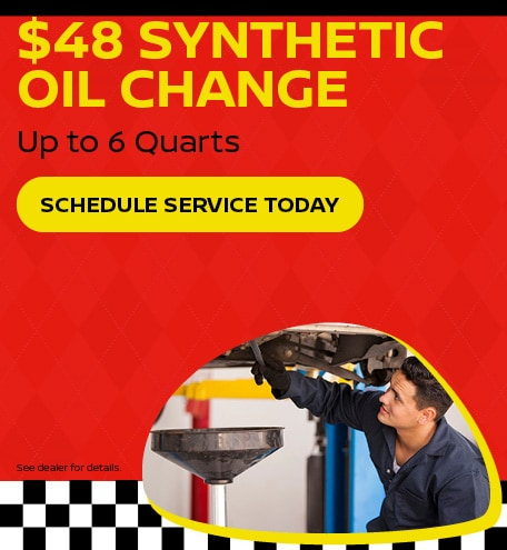 $48 Synthetic Oil Change
