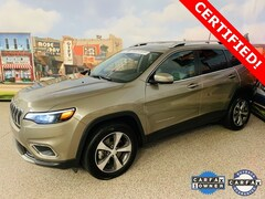 Used 2019 Jeep Cherokee Limited 4x4 SUV For Sale In Carrollton, TX