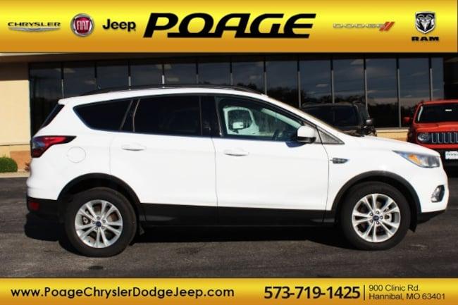 Used 2018 Ford Escape SE SUV in Hannibal, MO