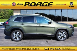 New 2019 Jeep Cherokee LIMITED FWD Sport Utility J9132 for sale in Hannibal, MO