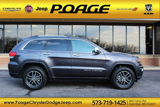 Used 2018 Jeep Grand Cherokee Limited 4x4 SUV in Hannibal, MO