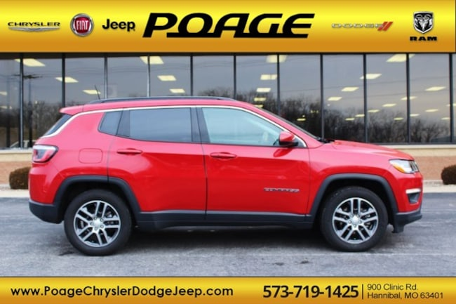Used 2018 Jeep Compass Latitude FWD SUV in Hannibal, MO