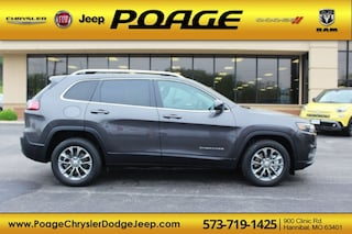 New 2019 Jeep Cherokee LATITUDE PLUS FWD Sport Utility J9176 for sale in Hannibal, MO