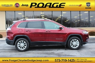 New 2019 Jeep Cherokee LATITUDE 4X4 Sport Utility for sale in Hannibal, MO