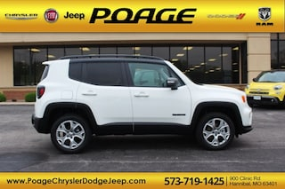 New 2019 Jeep Renegade LIMITED 4X4 Sport Utility for sale in Hannibal, MO