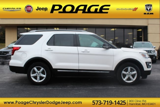 Used 2017 Ford Explorer XLT SUV in Hannibal, MO