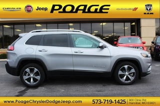 New 2019 Jeep Cherokee LIMITED FWD Sport Utility J9137 for sale in Hannibal, MO