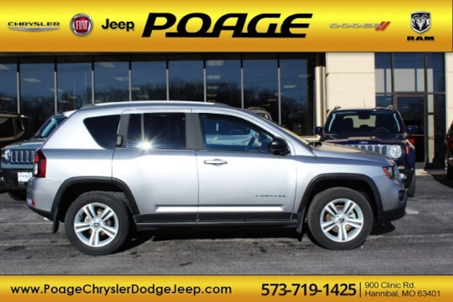 Used 2016 Jeep Compass Sport 4x4 SUV in Hannibal, MO