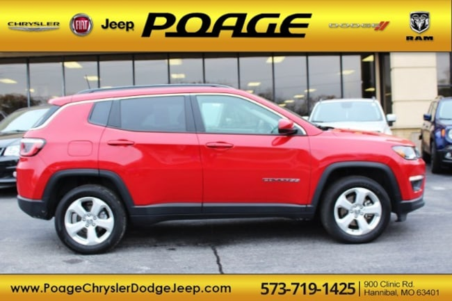 Used 2018 Jeep Compass Latitude 4x4 SUV in Hannibal, MO
