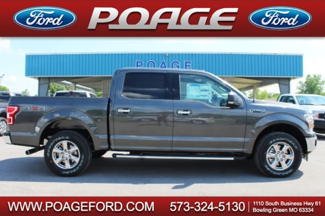 2018 Ford F-150 4WD XLT Supercrew Truck SuperCrew Cab
