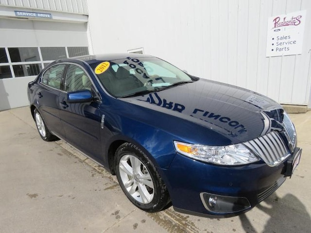 Used 2012 Lincoln Mks For Sale At Pocahontas Lincoln Vin