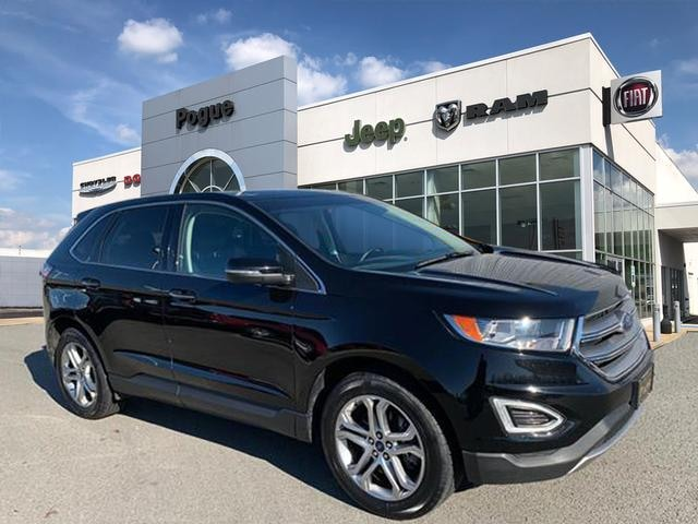 Used 2016 Ford Edge Titanium For Sale Powderly Ky Stock