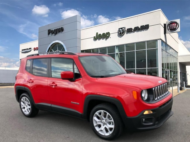 New 2018 Jeep Renegade LATITUDE 4X2 Sport Utility For Sale/Lease Powderly, KY