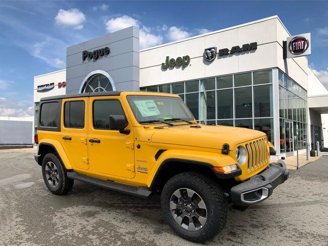 New 2018 Jeep Wrangler UNLIMITED SAHARA 4X4 Sport Utility For Sale/Lease Powderly, KY