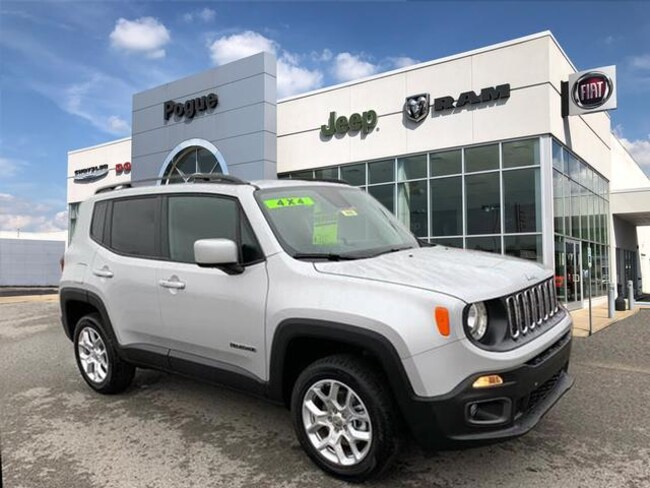 New 2018 Jeep Renegade LATITUDE 4X4 Sport Utility For Sale/Lease Powderly, KY