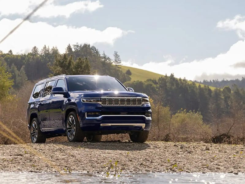 Pollard Jeep of Boulder - Discuss the 2022 Jeep Wagoneer near Steamboat Springs CO