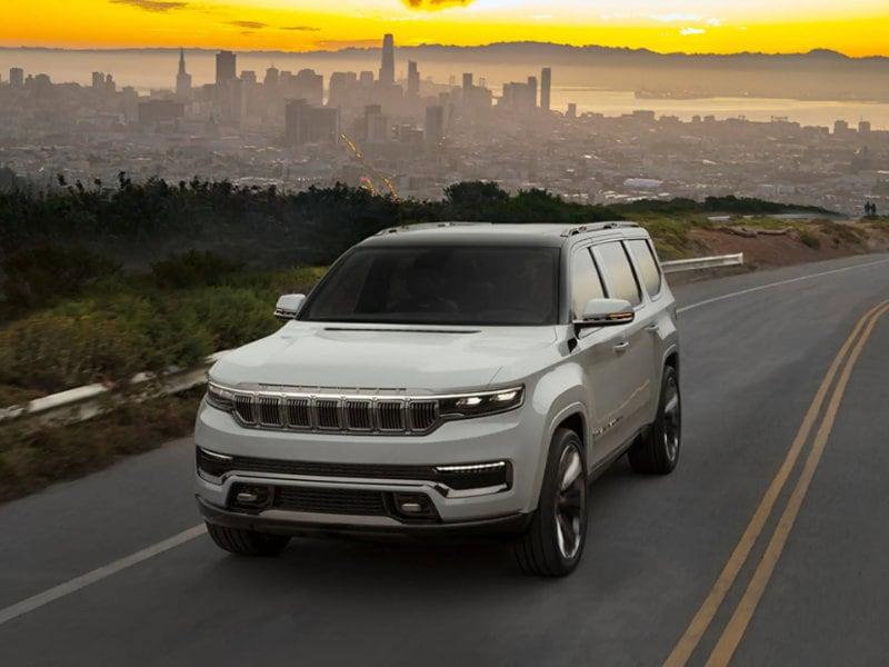 Pollard Jeep of Boulder - The 2022 Jeep Grand Wagoneer is tempting near Aspen CO